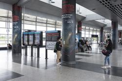 Netflix's new show Stranger Things is a homage to 1980s thrillers, and the Out-of-Home campaign at TTC stations across Toronto uses old technology to entice viewers.