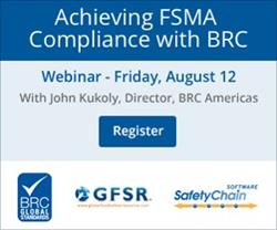 Achieving FSMA Compliance with BRC Global Standards