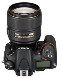 Nikon 105mm f1.4 Lens on Camera