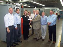 AMETEK CHECK PRESENTATION TO THE OHIO STATE UNIVERSITY