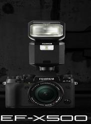 Fujifilm X-T2 Camera with EF-X500 Flash