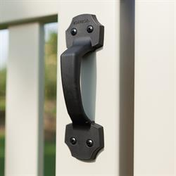 Enhance the look of a gate with a stylish Boerboel gate handle.