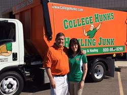 Scott and Lori Harvin of College H.U.N.K.S. Hauling Junk and Moving.