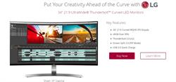 "Win LG 34UC98-W 34"" 21:9 Curved IPS Monitor"