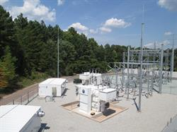 Sentinel Data Centers' NC-1 100kV Substation