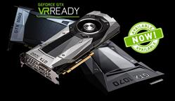 All NVIDIA GeForce GTX 10-Series GPUs are also certified VR Ready