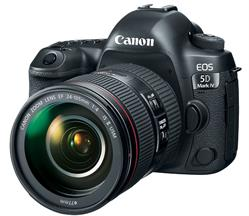 Canon EOS 5D Mark 4 with 24-105mm