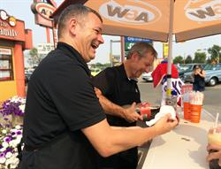 A&W BTBMS - Root Beer Float Stand - Regina 2015