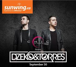 Dzeko and Torres Live at CHIC Punta Cana on September 30th