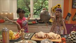 KickinNutrition.TV stars Reyna and Stacy having fun in the kitchen