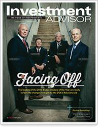 Investment Advisor Magazine Cover