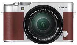 FUJIFILM X-A3 Brown Camera