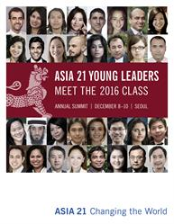 Asia 21 Announces 2016 Class of Young Leaders
