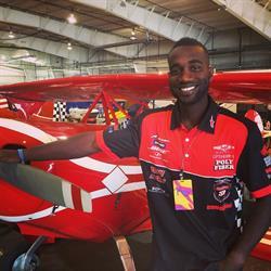 EPIC Fuels Sponsors Anthony Oshinuga, Aerobatic & Competitive Race Pilot