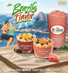 Picture of Brazil's Flavor Destination Smoothie and Bowls
