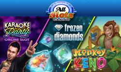 New games at All Slots Online Casino