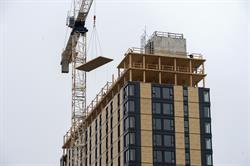 "World's Tallest Timber Building - Final Wood Panel Arrives ""Express"""