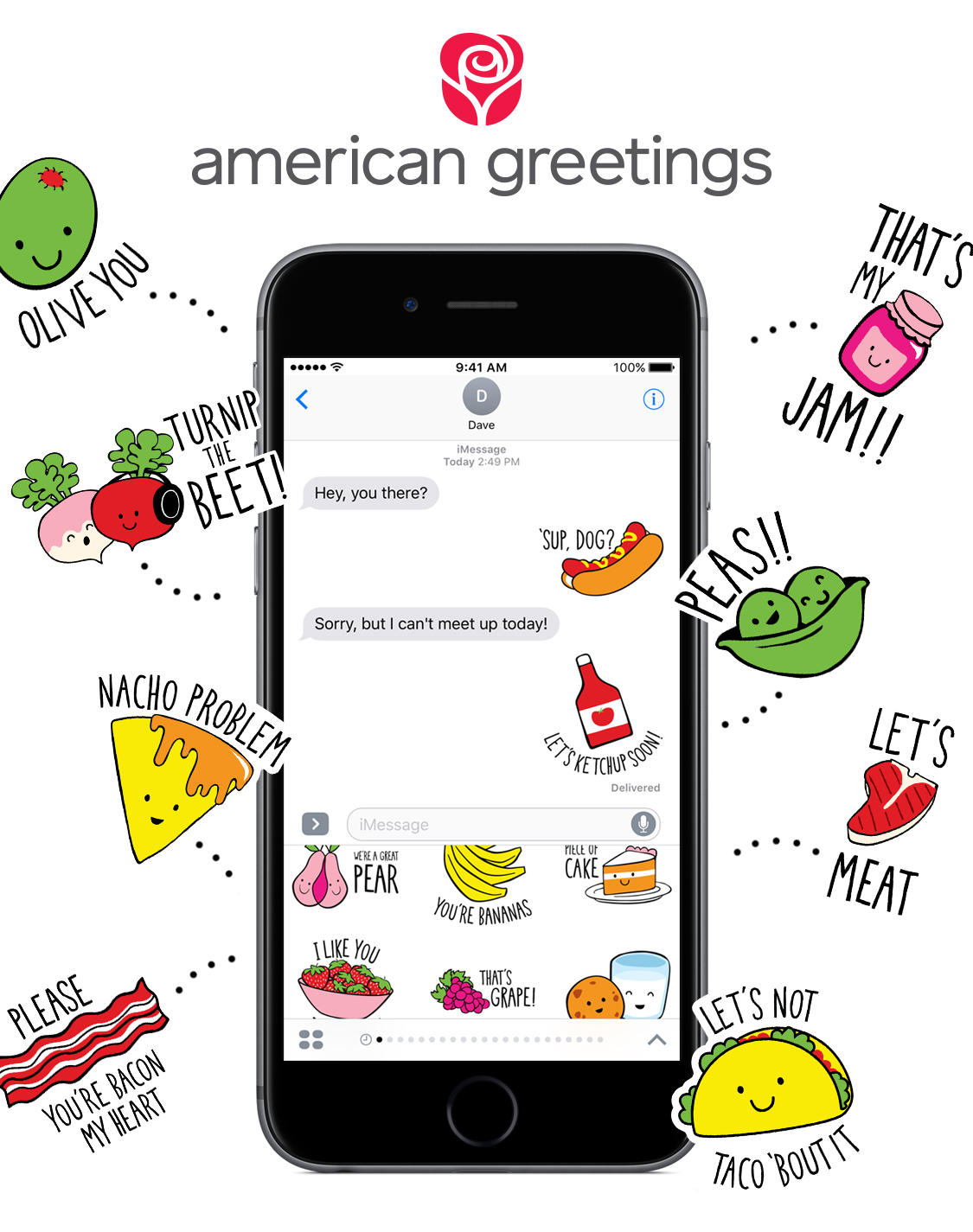 American greetings debuts brand new sticker packs for imessage image available m4hsunfo