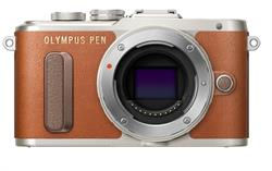 Olympus PEN Brown E-PL8 Mirrorless Camera