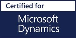 Certified by Microsoft Dynamimcs