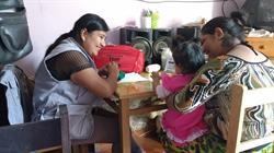 Delivering the CASITA intervention. Photo credit: Socios en Salud / CASITA.