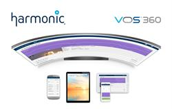 Harmonic VOS 360 cloud media processing service