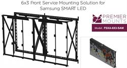 Premier Mounts Introduces Mounting Solution for Samsung SMART LED Cabinets