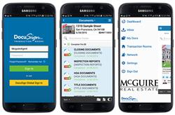 DocuSign provides all McGuire Real Estate agents and clients with a simple, mobile, and secure solution for real estate transactions.