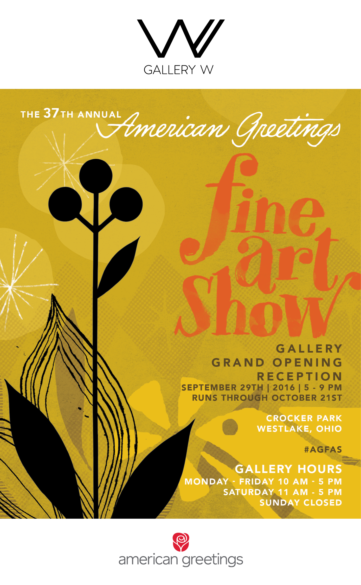 American greetings welcomes the public to gallery w at new american greetings welcomes the public to gallery w at new creative studios kristyandbryce Images