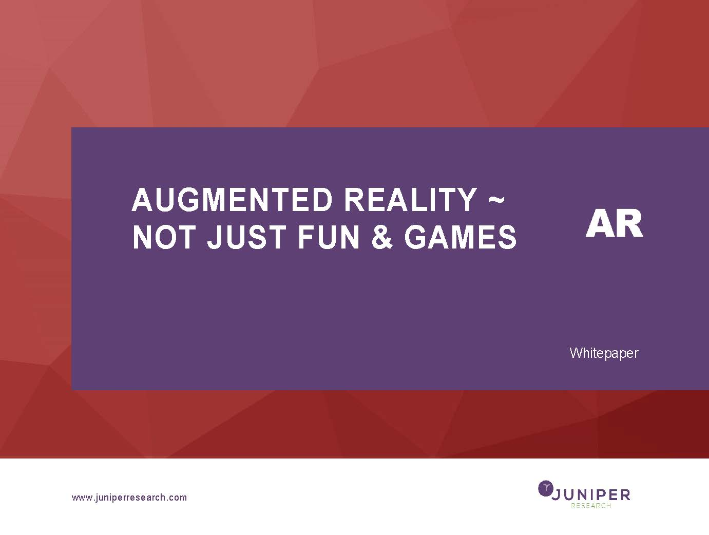 a study of augmented reality ar Framingham, mass, august 3, 2017 – worldwide revenues for the augmented reality and virtual reality (ar/vr) market are forecast to increase by 100% or more over.
