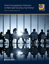 """What's Driving Boards of Directors to Make Cyber Security a Top Priority?"" uncovers the specific drivers behind why boards of directors are making cyber security a top priority and the challenges they face in reducing cyber risk."