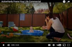 ActiveYards Fusion Series Frame Your Life Commercial