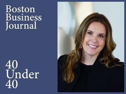Vestmark CFO, Tiffany Freitas, is an honoree of the Boston Business Journal's 40 Under 40