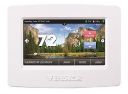 Venstar's ColorTouch Touch Screen Thermostat With Wi-Fi Inside