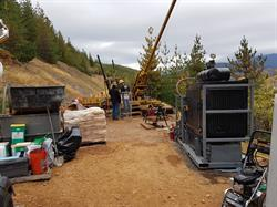 Drilling underway at Bridging The Gap targeting the Historic Crown Point Mineralization