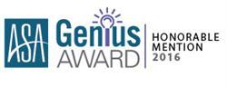 ASA Genius Award Logo