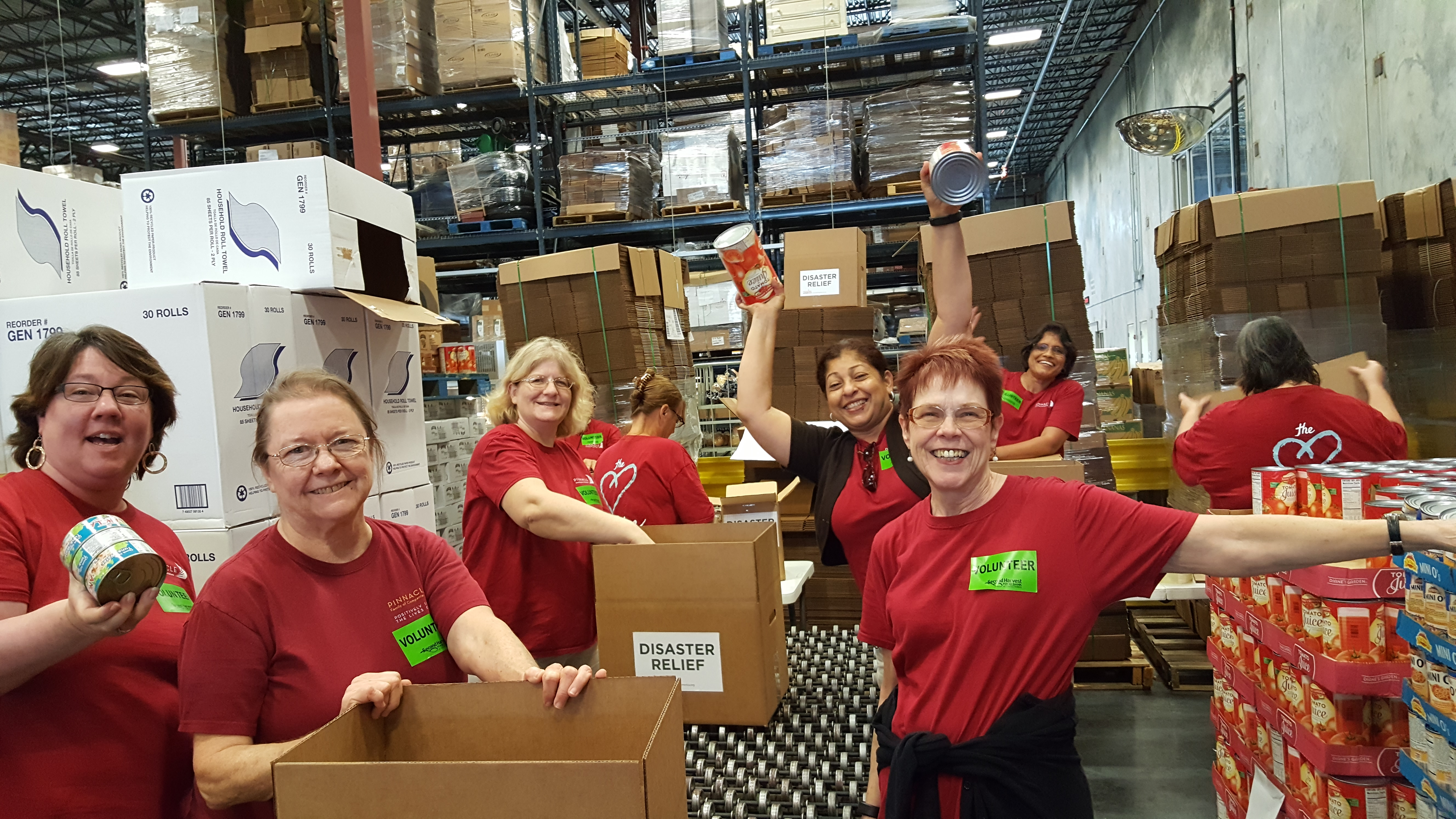 Pinnacle Launches First Corporate Team Community Service