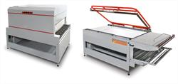 L-bar sealer and shrink tunnel system for large products