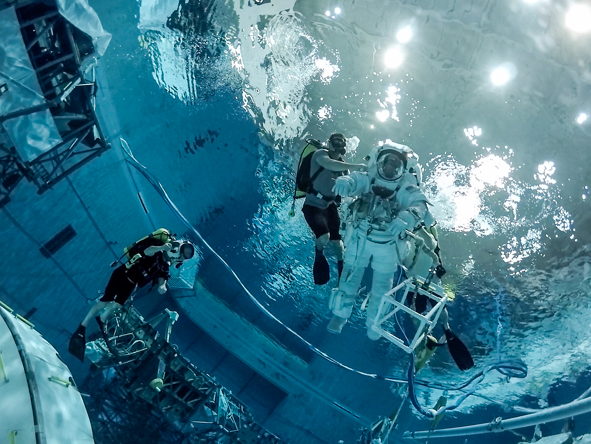 NASA and Harmonic Offer Spectacular 360-Degree Astronaut ...
