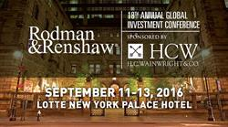Staffing 360 Solutions to Present at the 18th Annual Rodman & Renshaw Conference on September 13, 20