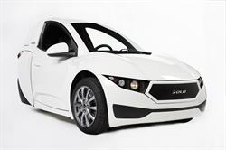 Electra Meccanica Unveils New 2017 SOLO Electric Vehicle