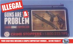 Crime Stoppers Billboard -- Edited