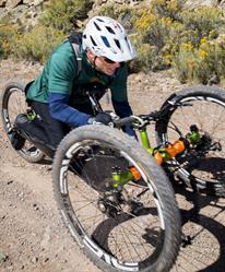 Hand cycling in Colorado.