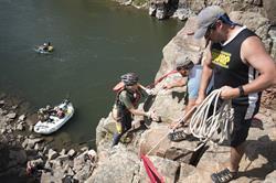 Climbing at Adventure Team Challenge Colorado