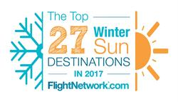 The Top 27 Winter Sun Destinations in 2017.