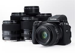 Fuji GFX50S Camera with Lenses