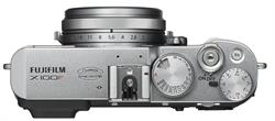 Fuji X100F Camera Top Silver