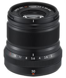 Fuji XF50mm F2 R WR lens