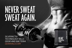 Never Sweat Sweat Again.