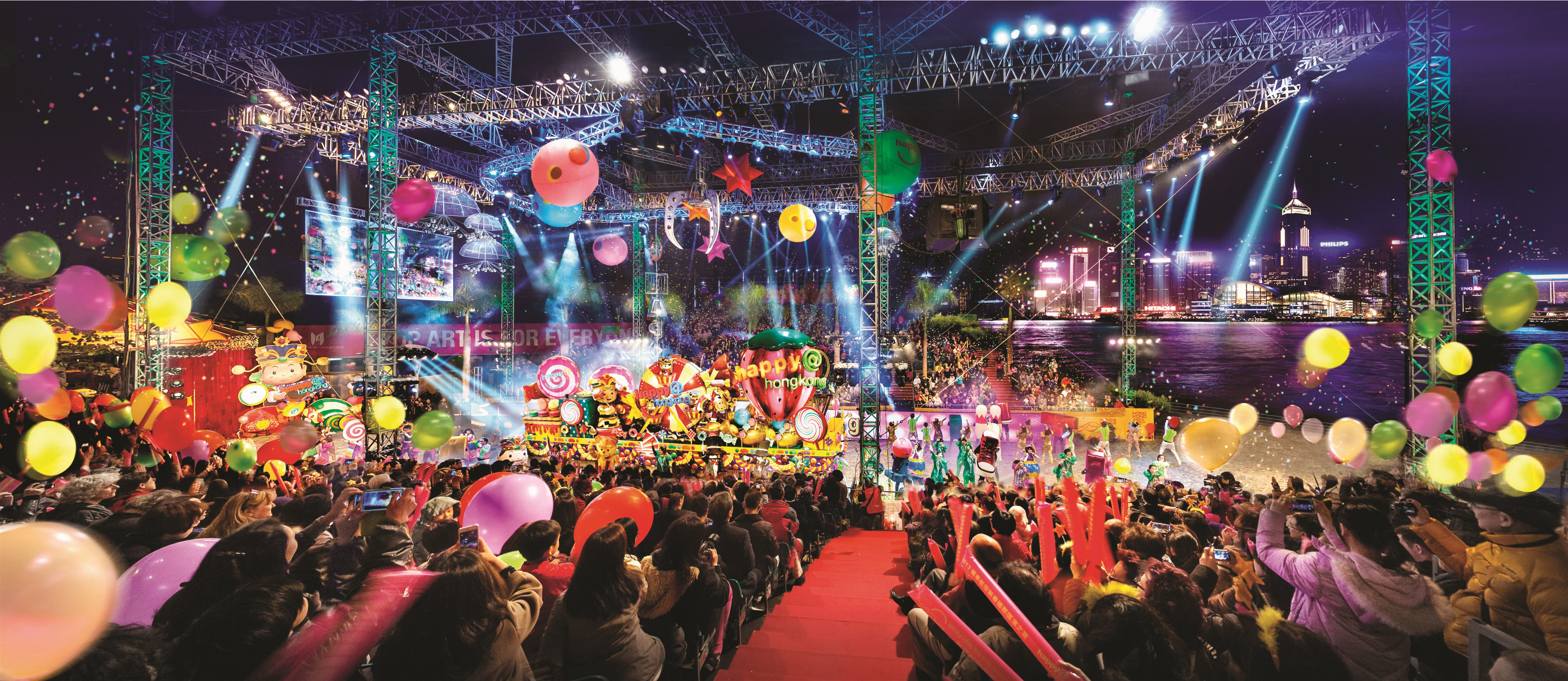 News alert hong kong international chinese new year night for Chinese new years parade